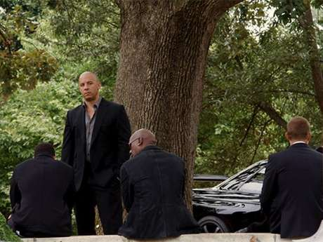 Vin Diesel en 'Rápidos y Furiosos 7'.