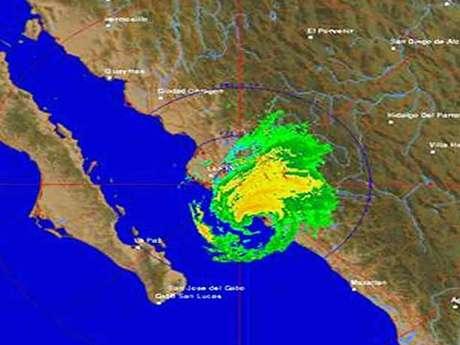 ´Manuel´ se encuentra a 35 kilómetros de Altata, sindicatura de Sinaloa donde la lluvia ya provocó daños esta madrugada.