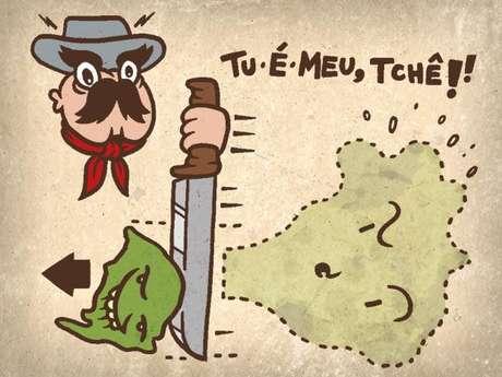 O Rio Grande do Sul já esteve separado do Brasil?