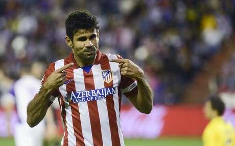 <p>Diego Costa é motivo de disputa entre brasileiros e espanhóis</p>