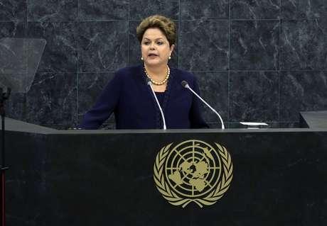 A presidente Dilma Rousseff manifestou repúdio pelas ações de espionagem dos EUA ao Brasil