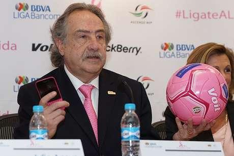 Decio de María, presidente de la Liga MX y Ascenso MX