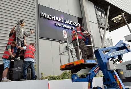 <p>Fulham encerrou o espa&ccedil;o de tributo a Michael Jackson de Craven Cottage</p>