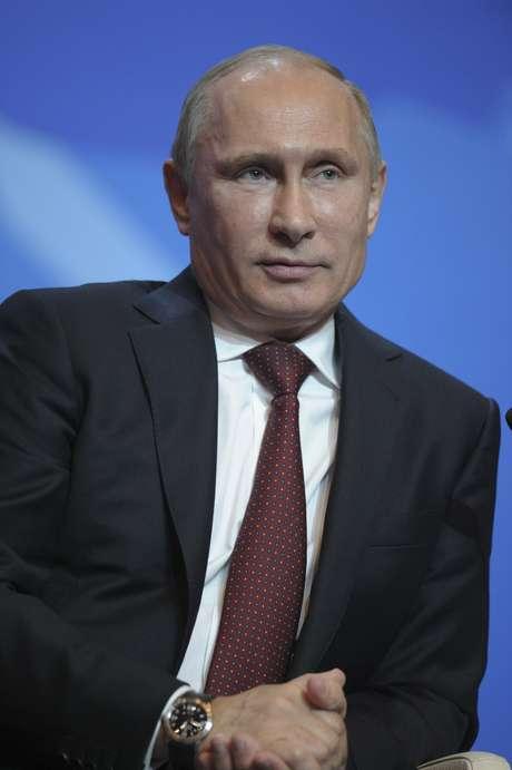 <p>O presidente da R&uacute;ssia, Vladimir Putin, em imagem da semana passada</p>
