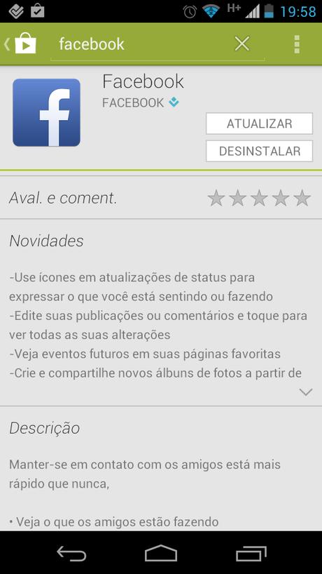 Aplicativo para Android já traz a edição de publicações na descrição, mas recurso não foi disponibilizado para todos os usuários
