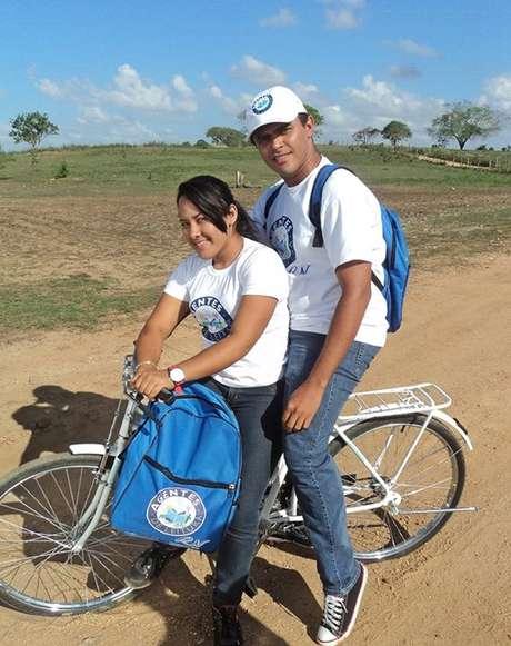 Alexandre Silva é agente de leitura em Macaíba