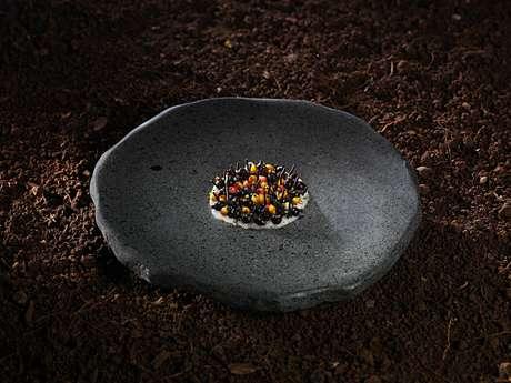 O Boragó, do chef Rodolfo Guzmán, faz uma releitura moderna de técnicas e ingredientes utilizados pelos povos originários do Chile, como o cozimento em pedras vulcânicas