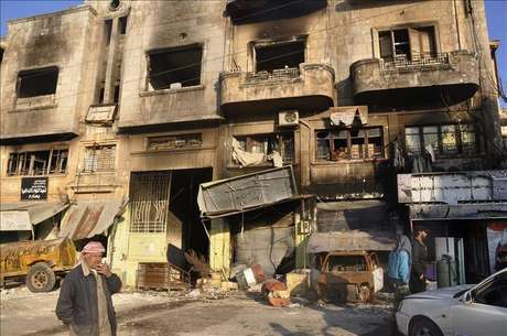 Al Qaeda se enfrenta a los rebeldes del ELS en la localidad siria de Azaz