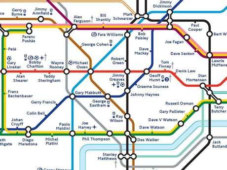 Metrô de Londres inclui Pelé em homenagem ao 150º aniversário da FA