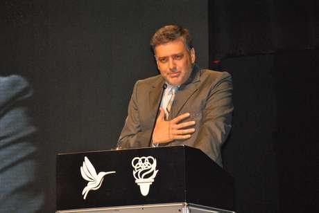 José Quiñones, presidente del Comité Olímpico Peruano (COP)