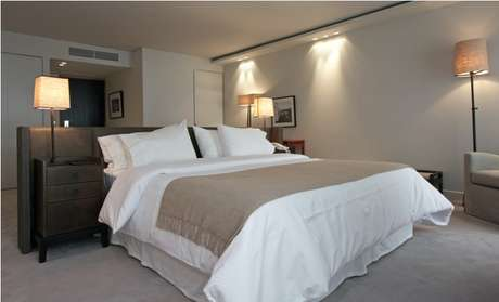<p>Serena Hotel oferece estadia a dois ideal</p>