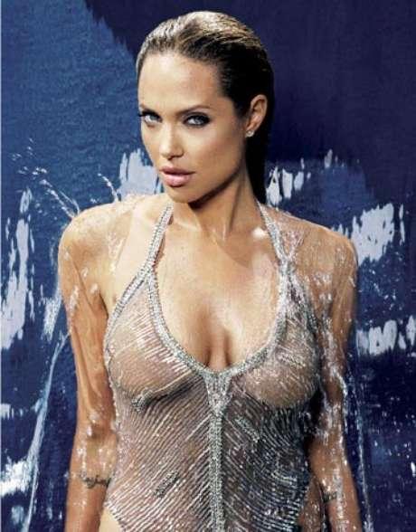 Angelina Jolie: El desnudo de Angelina Jolie