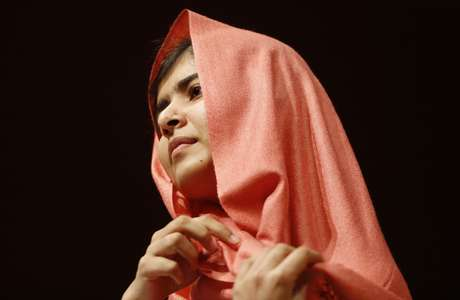 A ativista afegã Malala Yousafzai