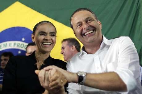 <p>Marina Silva anunciou filiação ao PSB de Eduardo Campos após ter o registro da Rede Sustentabilidade negado pelo TSE</p>