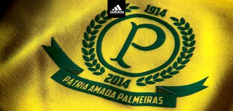 <p>Camisa do Palmeiras tem referência à Seleção Brasileira</p>