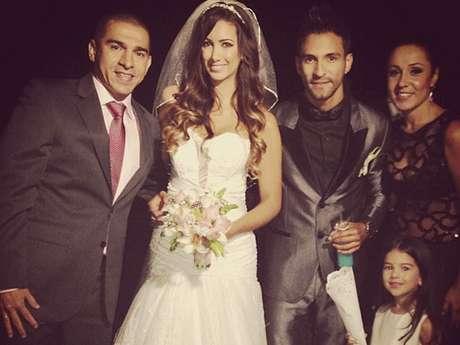 Nanis Ochoa y Pipe Calderón contraen matrimonio