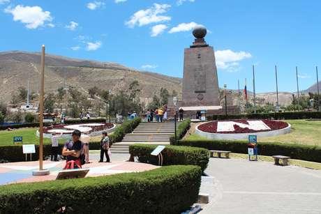 <p>Ciudad La Mitad del Mundo é um dos pontos mais procurados pelos turistas em Quito</p>