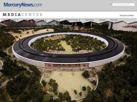 Apple construiu maquete em três dimensões do projeto da nova sede