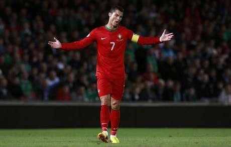 <p>Cristiano Ronaldo e Portugal terão jogos duros para ir à Copa do Mundo</p>
