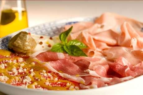 <p>Prato do restauranteLa Tambouille, que Ivete costumava ir com Hebe Camargo</p>