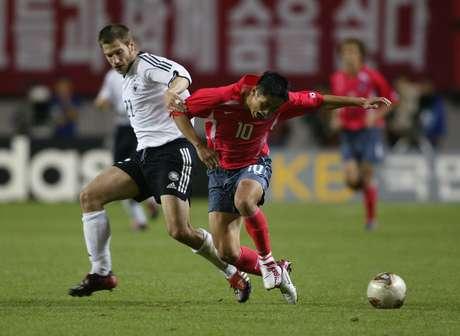<p>Estádio Sang-Am foi palco de semifinal em 2002 entre Coreia do Sul e Alemanha</p>