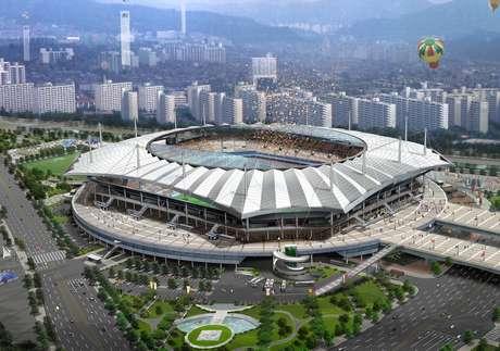 <p>Estádio recebeu três jogos na Copa do Mundo de 2002, mas nenhum do Brasil</p>