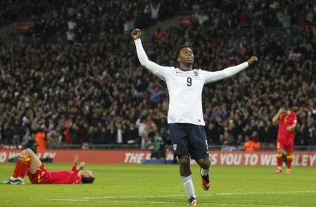 <p>Sturridge fez o quarto gol dos ingleses, que definiu a partida já nos acréscimos</p>