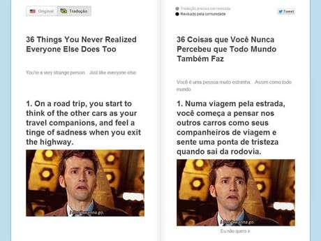 Tradução das postagens do BuzzFeed é feita pelos alunos do Duolingo