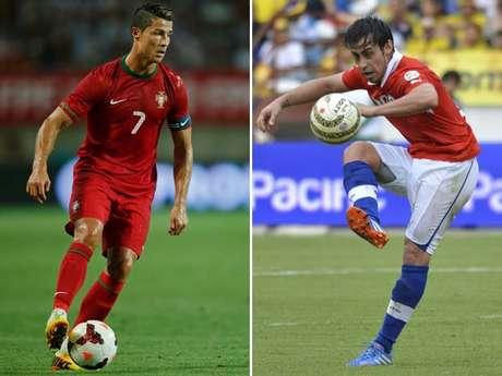 <p>Nesta ter&ccedil;a-feira, 24 sele&ccedil;&otilde;es entram em campo pelas Eliminat&oacute;rias: estar&atilde;o em jogo sete vagas diretas na Copa do Mundo de 2014 e mais dez em repescagens pelo mundo. De Portugal de Cristiano Ronaldo ao Chile de Valdivia,&nbsp;veja quem pode se classificar:&nbsp;</p>