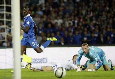 Seleção italiana poderia ser cabeça de chave se tivesse conquistado a vitória