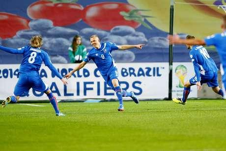Pelo Grupo E, Islândia empatou com a Noruega e confirmou vaga na repescagem