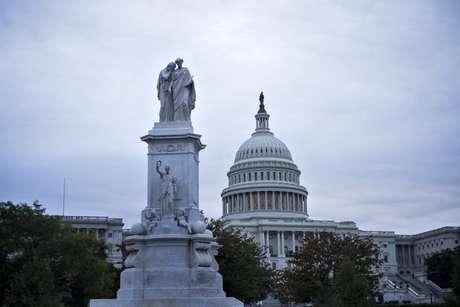 <p>O Capitólio, sede do Congresso americano</p>