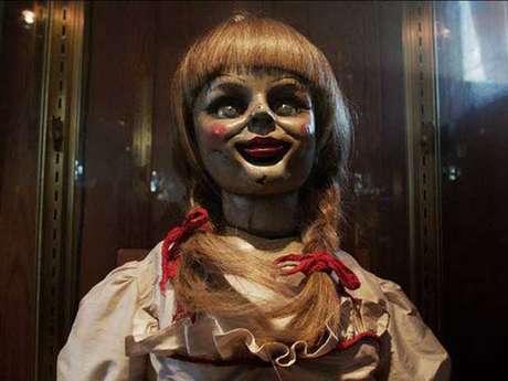 <p>Esta es la muñeca Annabelle que apareció en la película.</p>