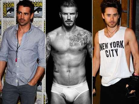 <p>Site reúne frases e fotos que apontam para os homens mais 'bem dotados' de Hollywood</p>
