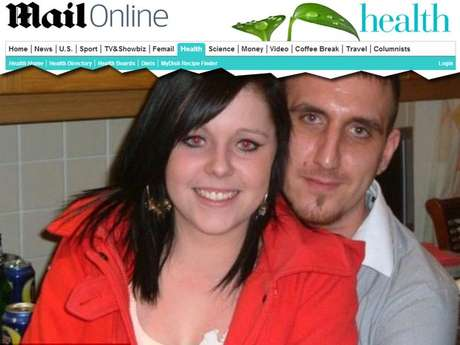 <p>Jodie e o noivo, James Jackson</p>
