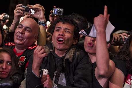 <p>Algunos asistentes derramaron lagrimas de felicidad al ver a Black Sabbath en Colombia.</p>