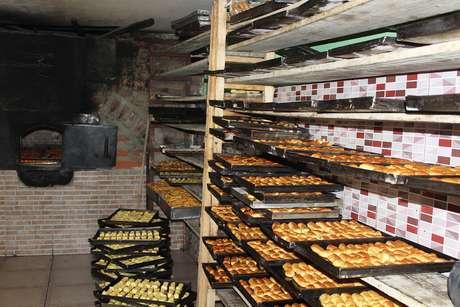 <p>Os biscoitos de Cayambe, na província de Pichincha,são assados no forno a lenha</p>