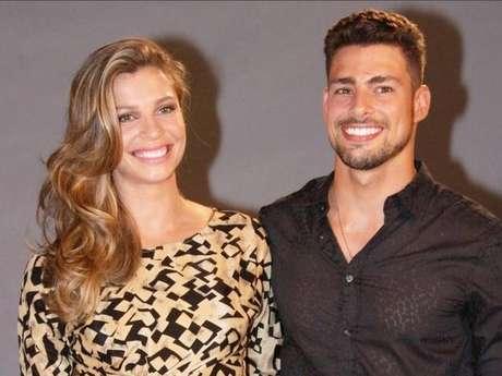 <p>Grazi Massafera e Cauã Reymondenfrentaram os primeiros rumores de separação em junho de 2013</p>