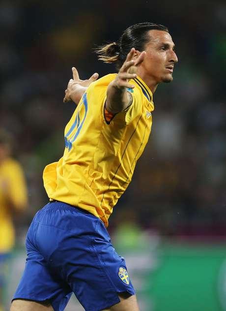 Ibrahimovic, que fez seis gols nas Eliminatórias, tentará jogar sua terceira Copa na carreira