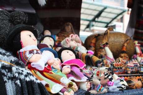 <p>Feira de Otavalo reúnemais de 2,5 mil comerciantes de várias províncias do Equador</p>