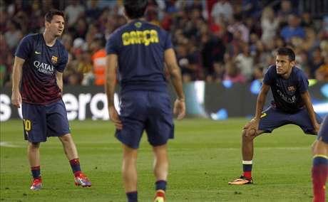 Galliani ve en Neymar-Messi mucho peligro y el dúo más fascinante del fútbol