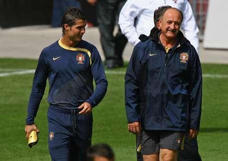 Scolari teve passagem marcante pela seleção portuguesa, mesmo sem levantar nenhum troféu