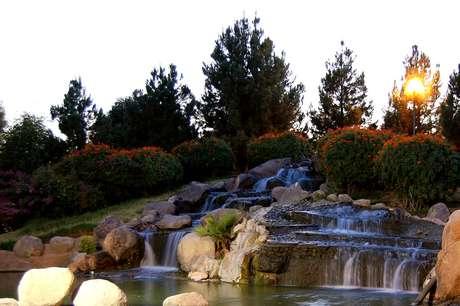 O Parque Fundadores oferece até uma cascata aos moradores de Torreón, que fica no deserto mexicano