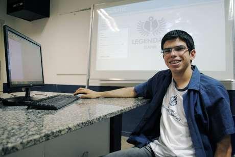 <p>Pedro Ivo Gomes, criador do programa</p>