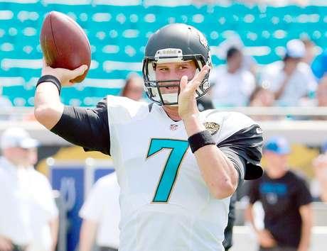 Chad Henne, quarterback de los Jacksonville Jaguars