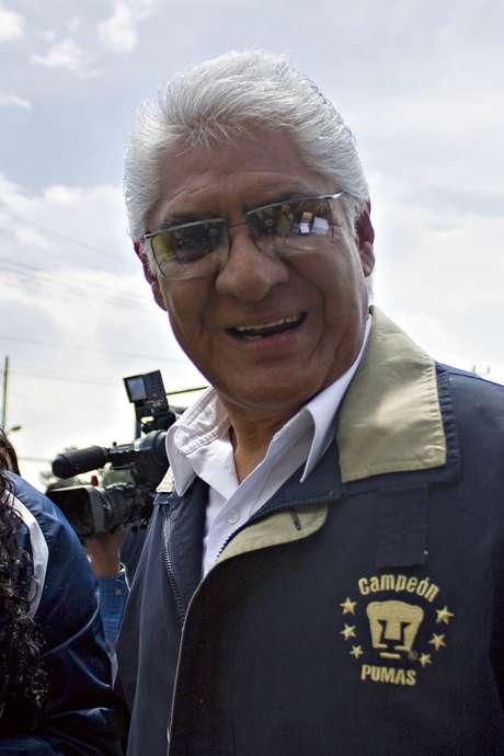 Mario Trejo directivo de los Pumas de la UNAM.