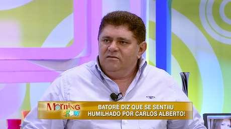<p>Batoré diz se sentir humilhado</p>