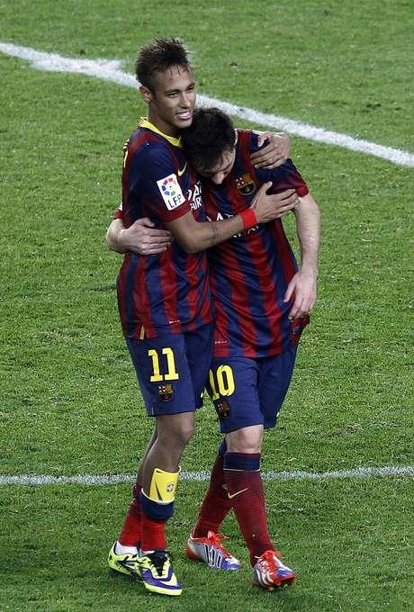 <p>In&iacute;cio de Neymar no Bar&ccedil;a tem sido elogiado pela imprensa espanhola</p>