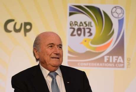 """<p>Presidente da Fifarebateu as críticas e disse que não é um """"parasita sem coração sugando o sangue do futebol""""</p>"""