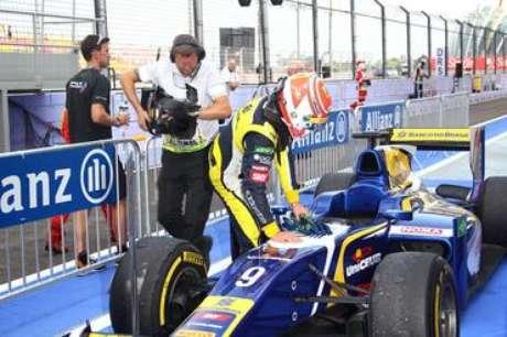 <p>Pela equipe Carlin, brasiliense entrou na briga pelo título da GP2 em 2013, mas em desvantagem para líderes</p>